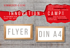 Unser Flyer Innovation Camp